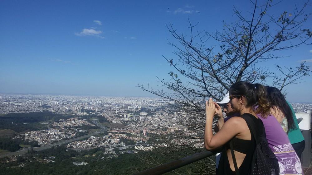 São Paulo a 1.135 metros de altura.