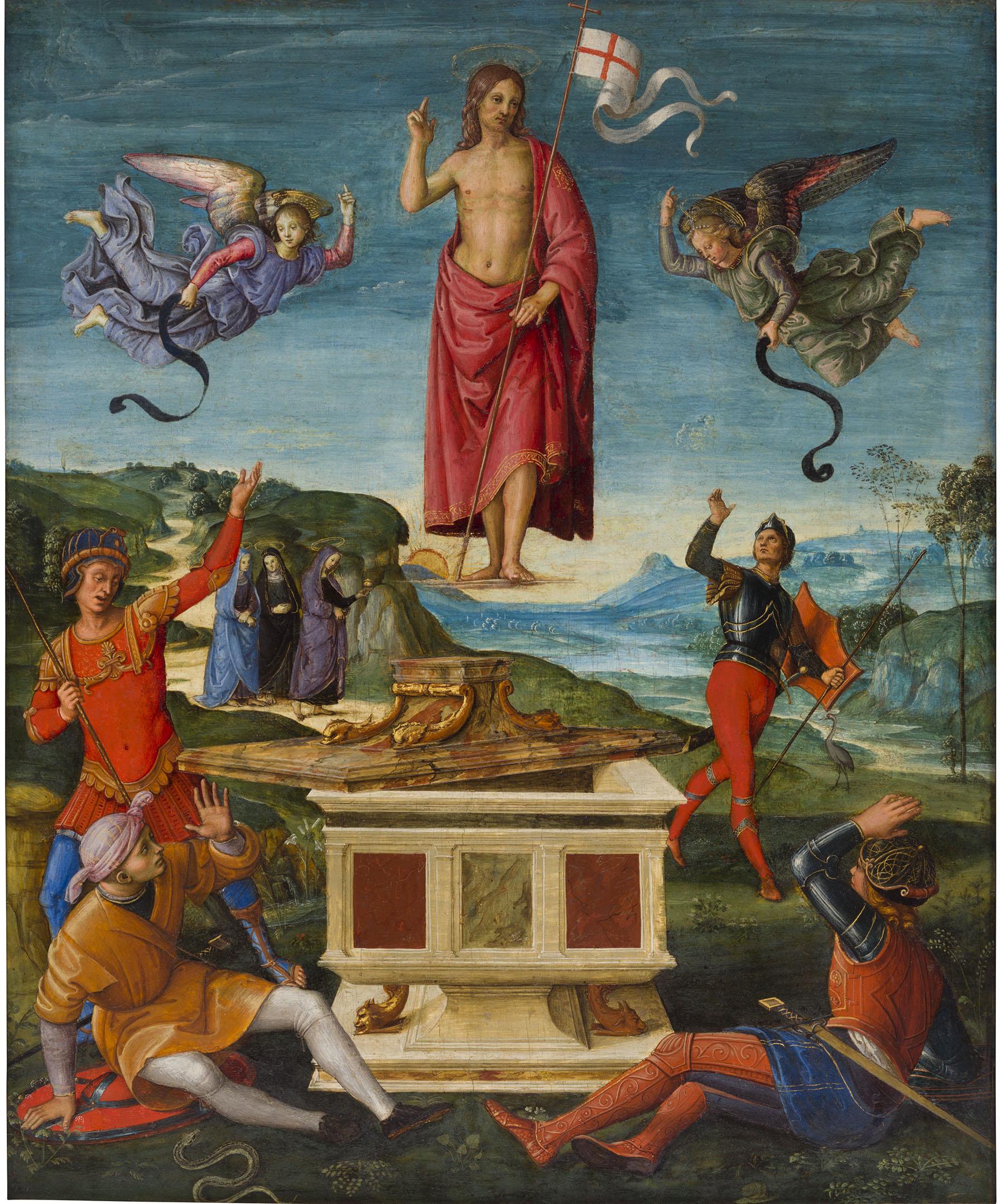 Ressurreição de Cristo - Rafael  no Masp. Foto: Divulgação