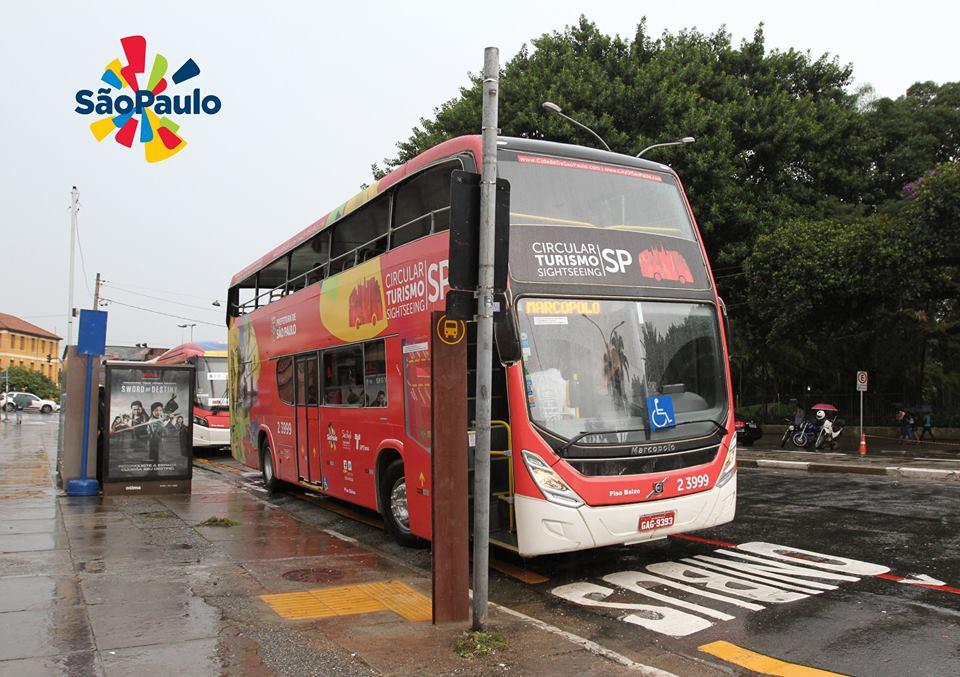 Onibus circular de turismo opera desde 12 de março Foto: José Cordeiro/SPTuris