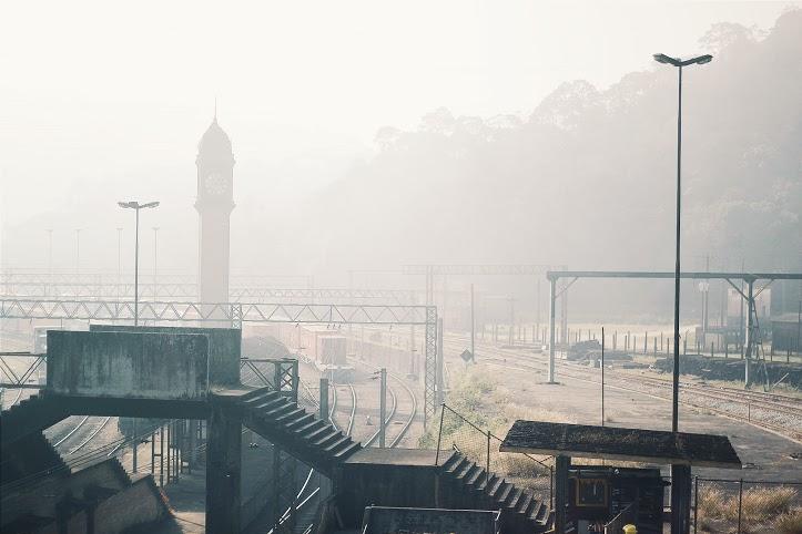 Relógio Big Ben da Vila de Paranapiacaba Foto: Lilian Wutzke