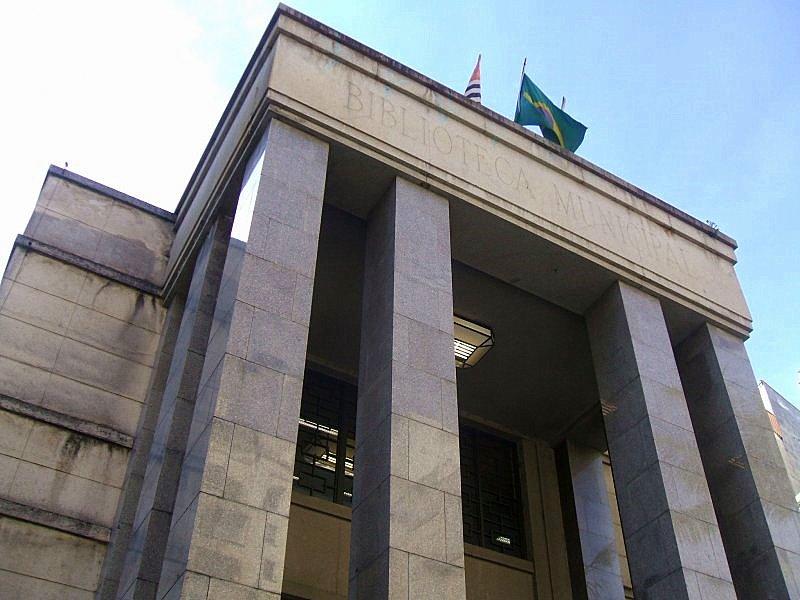 Em estilo art déco, a Biblioteca Mário de Andrade tem o segundo maior acervo do Brasil Foto: Divulgação