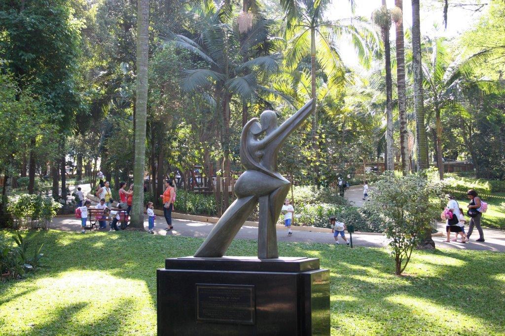 Escultura O Tango de Robeto Vivas Foto: Caio Pimenta/SPTuris