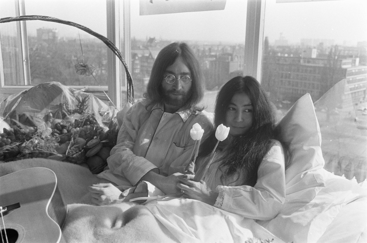 Bed in Peace Amsterdam 1969