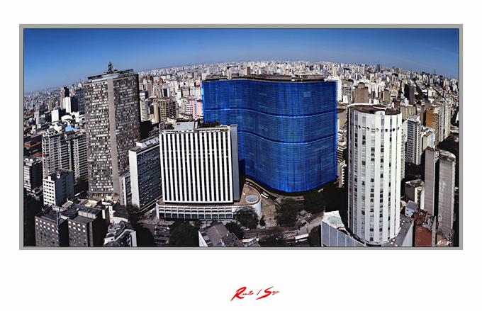 Copan em azul: Foto: RenatodSousa