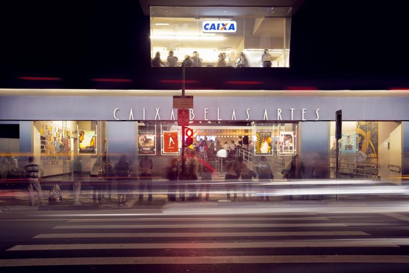Fachada Caixa Belas Artes. Foto: Letícia Godoy