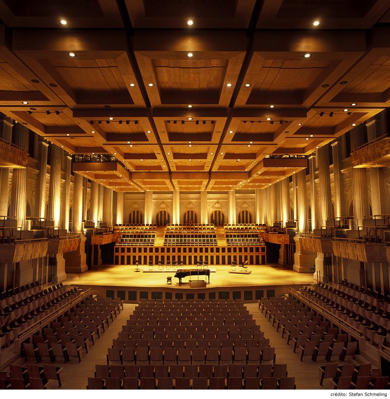 Sala de concertos. Foto: Divulgação