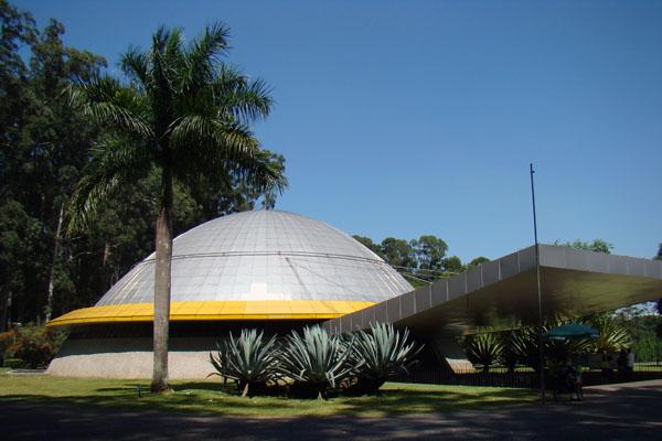 Planetário Professor Aristóteles Orsini no Parque Ibirapuera Foto: Divulgação Prefeitura de São Paulo