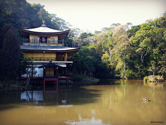 Fugidinha para Itapecerica da Serra: parque e Templo Kinkaku-ji