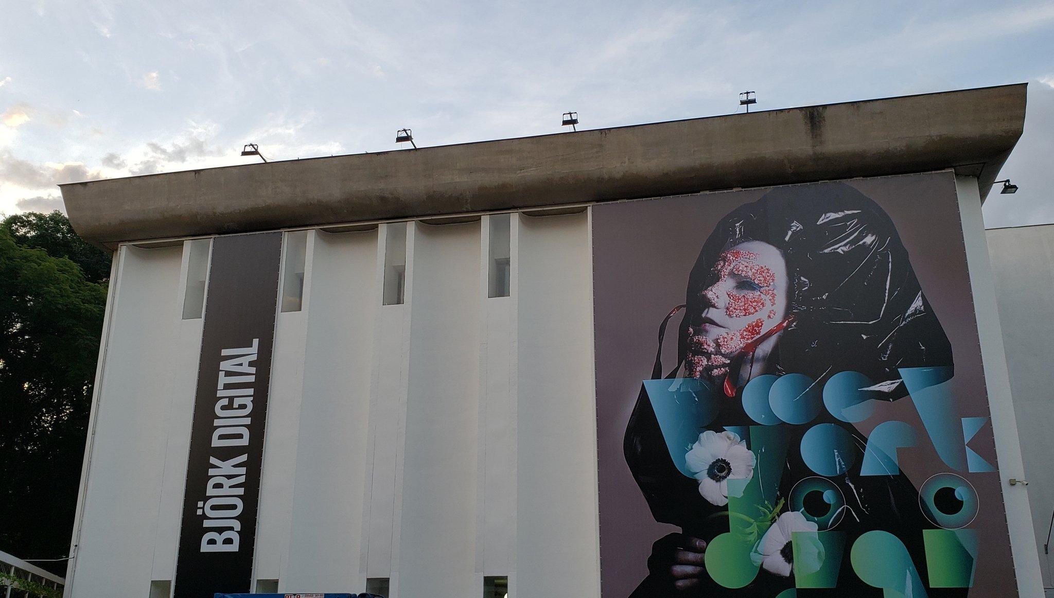 Visite Björk Digital no MIS