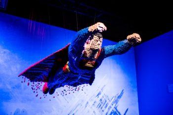Maior exposição de Lego do mundo,  DC Super Heroes, termina 21 de novembro